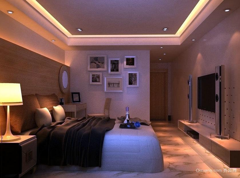 110平米超大豪华的自建别墅主卧装修效果图大全