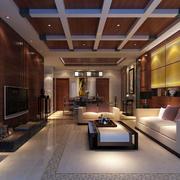 中式客厅装修图片