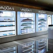 清新型展柜设计图片