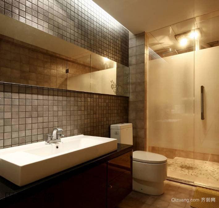 160平米高贵不做作的现代简约风格四居室房屋装修图