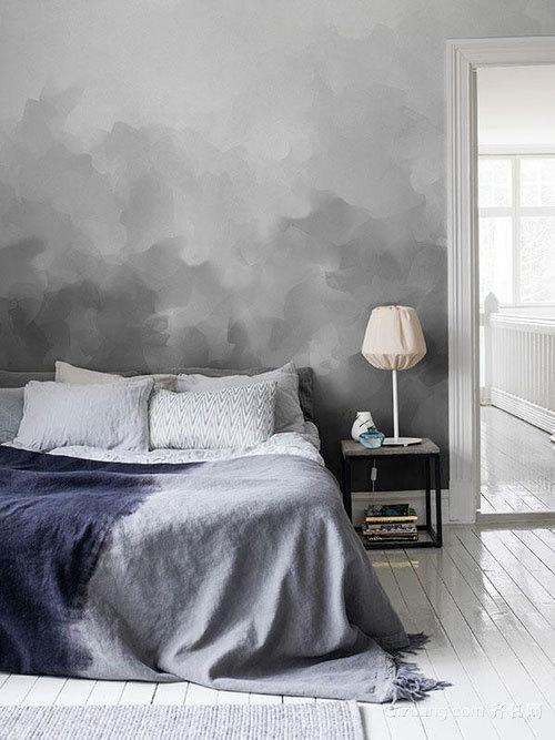 30平米北欧风格个性十足简约的现代化卧室设计图