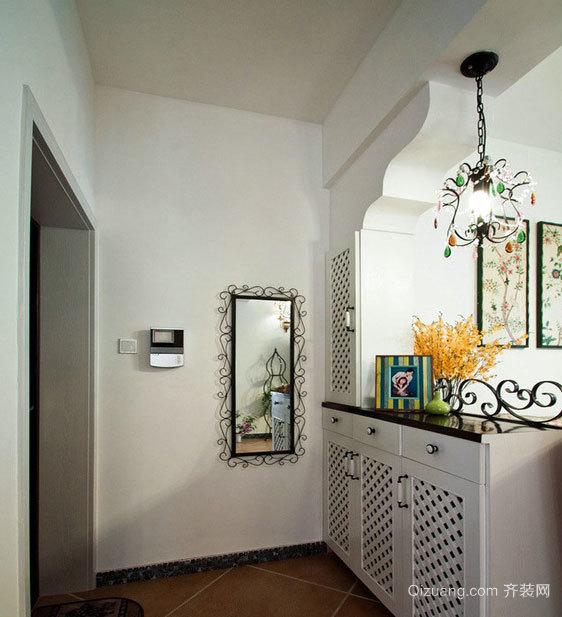 美观大方的古典风格的鞋柜设计装修效果图