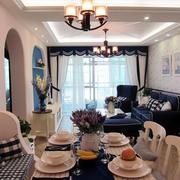 欧式风格两室一厅装修