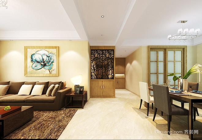 116平米诗一般温婉的自然清新后现代风格房屋装修图