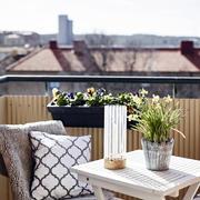 小复式楼阳台装修图片