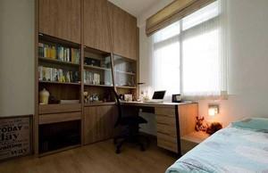 浓浓乡村情 84平米小户型老房室内装修设计效果图