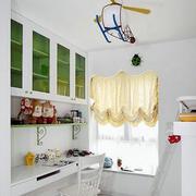 清新型飘窗窗帘设计