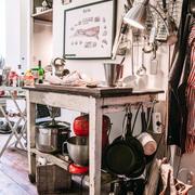 厨房背景墙装修图片