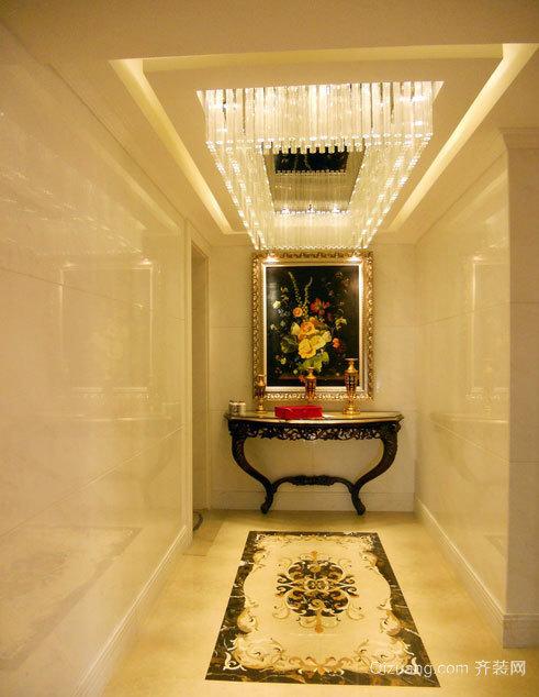设计新奇 美轮美奂的单身公寓走廊吊顶装修效果图大全