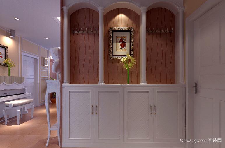 现代简约的入户玄关鞋柜设计 装修效果 图