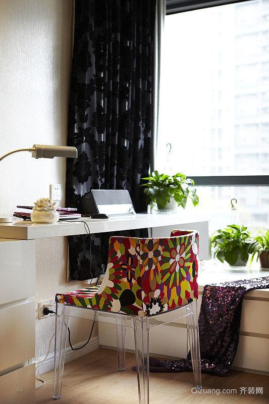 尽享生活:90平米中式混搭风格略带俏皮的公寓装修效果图
