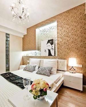 一举两得的家庭卧室室内盆栽花卉装修效果图