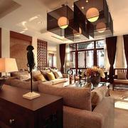 传统型中式客厅装修
