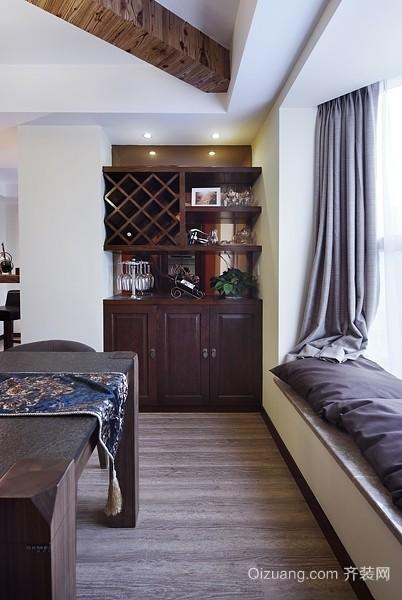 150平米尽显智慧的混搭风格三室两厅房屋装修效果图