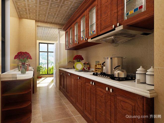 140平米装修精致的简约中式三室两厅房屋装修效果图