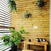 木质墙面装修图片