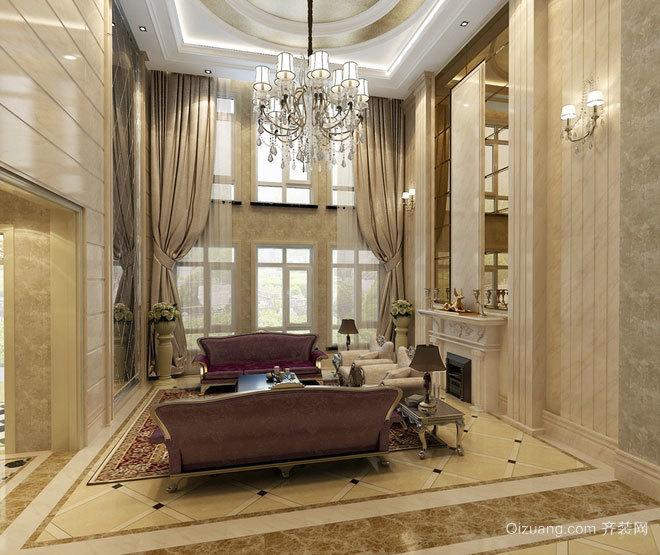 150平米尊贵典雅的混搭风格别墅装修效果图