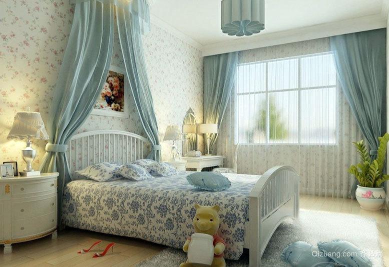 2015温馨风格的儿童房设计装修效果图大全