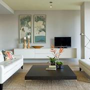 90平米房屋客厅图片