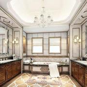 欧式风格浴室柜效果图