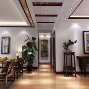 传统风格三室两厅装修