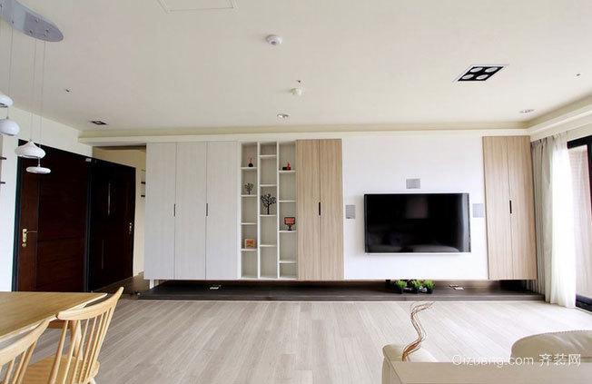 朴素雅致的两室一厅家居装修效果图鉴赏