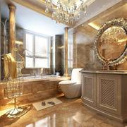 简欧系列浴室柜效果图