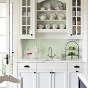 白色调厨柜装修大全