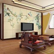 温馨型背景墙效果图