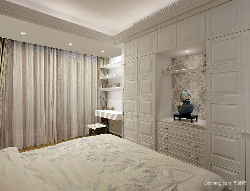 90平米现代都市清新整洁的整体家装效果图大全