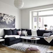小复式楼客厅沙发装修