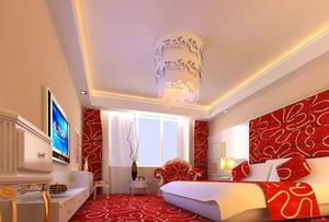 精致绝美的三室一厅卧室电视柜装修效果图鉴赏