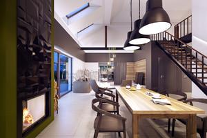 公寓餐厅设计图片
