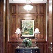自然风格客厅玄关装修