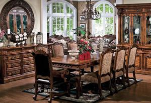 单身公寓 豪华高档的美式实木家具设计效果图鉴赏