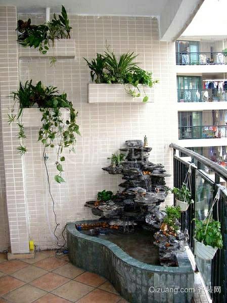 2015清新迷人的别墅露台阳光房装修效果图