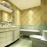 田园风格浴室柜效果图