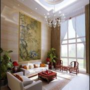 别墅客厅装修图片