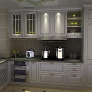 欧式风格厨柜装修大全