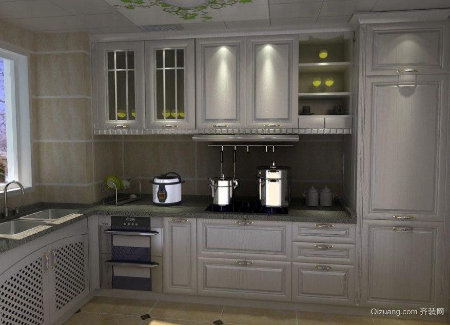 具有魔力似的现代大户型欧式厨柜装修效果图