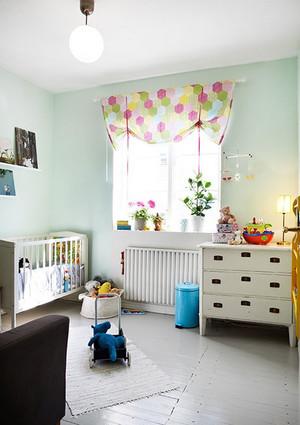 120平米大公寓精彩绝伦的精美飘窗窗帘装修效果图鉴赏