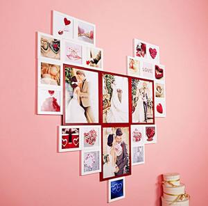 浪漫型照片墙装修