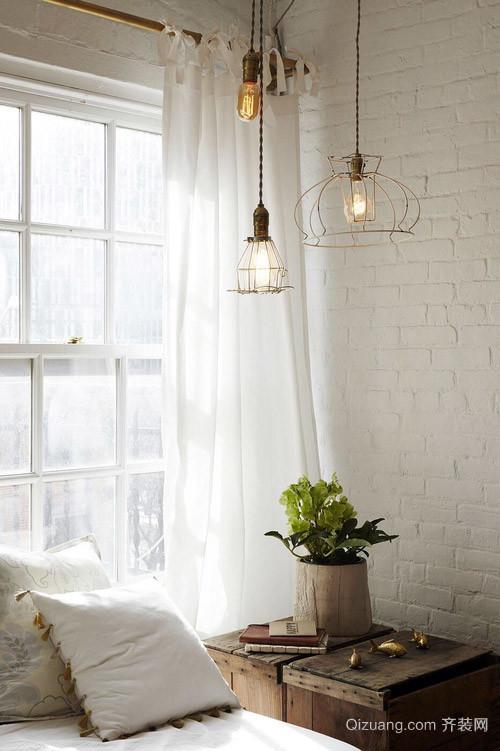 沉淀的质感:90平米老式小公寓翻新装修效果图