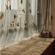 简洁风格飘窗窗帘设计