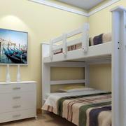 儿童房双人床装修图片