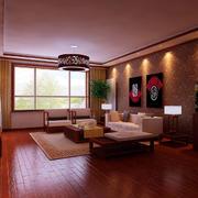 田园风格中式客厅装修