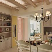 暖色调两室一厅装修
