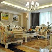 欧式风格90平米房屋