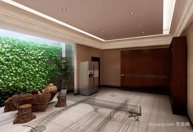 150平米纯正雅致的中式新古典别墅装修效果图