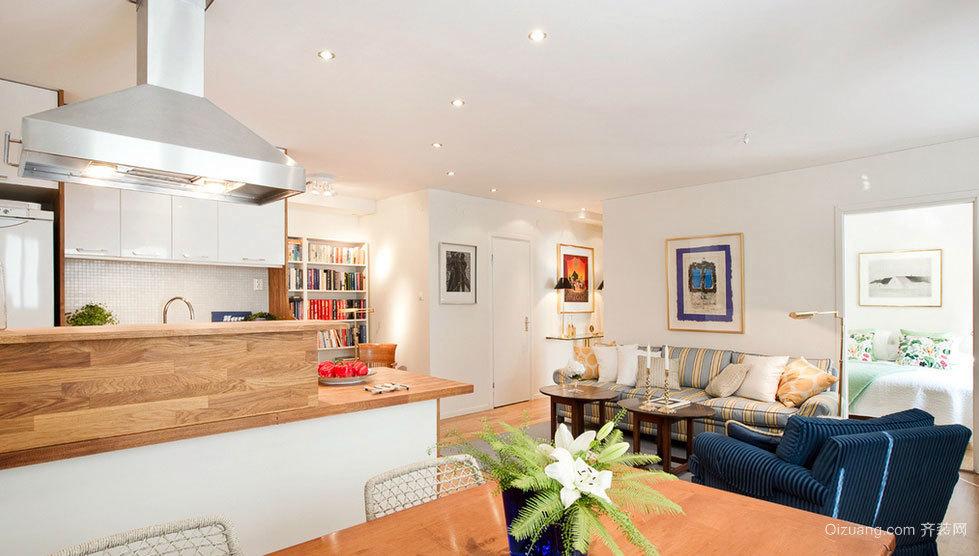 安静恬淡的现代简洁家居装修设计图片